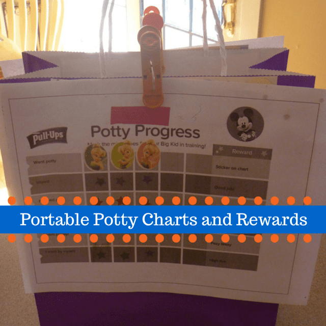 Personalized Potty Chart and Goody Bag